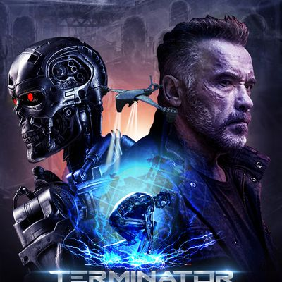 Latest Terminator movie : Tentative poster for most successful movie franchise designed by us.