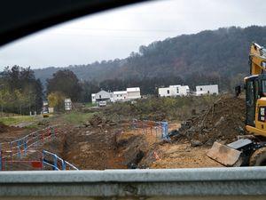 Construction d'une station-service sur la zone de La Paix (ex S.M.K.) à Algrange