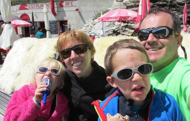 Montée au Lac et à la cabane de Moiry dans le Val d'Anniviers- 2825 m - 12 août 2014