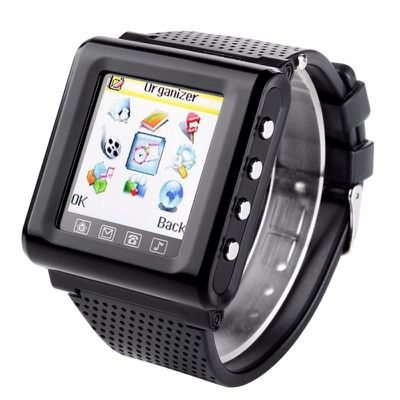 Smart watch mobile phone touch screen support sim tf fm radio mp3 bluetooth