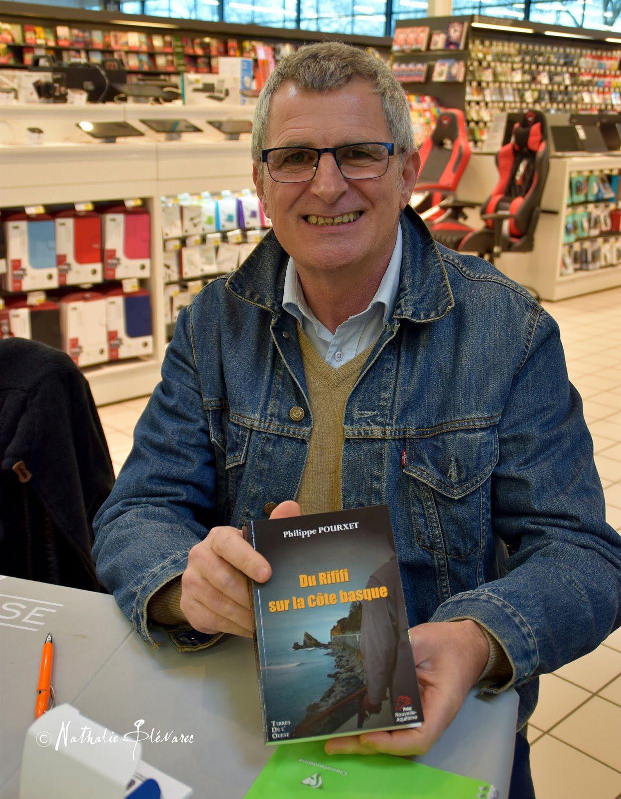 Portrait du jour : Philippe Pourxet, auteur de polars