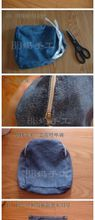 Cool denim back pack