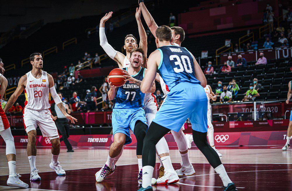 Jeux Olympiques : la Slovénie fait craquer l'Espagne dans le money-time !