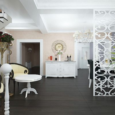 Amenajare living cu bucatarie | Proiecte design interior case la cheie