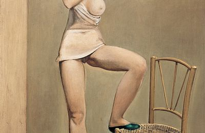 """""""Alice dans le miroir"""" (Balthus, 1933)"""