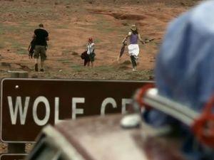 [Voyage dangereux en direction de] Wolf Creek