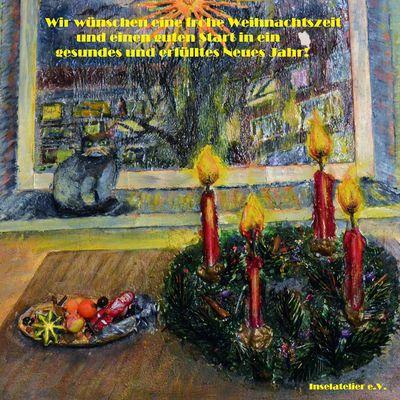 Fröhliche und bunte Weihnachten und einen tollen Start ins Neue Jahr!