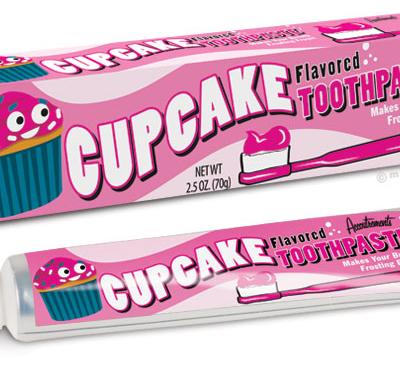 Un cupcake qui avait envie de changer d'apparence !