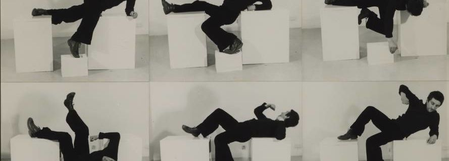 Pose Work for Plinths 1 @ Bruce McLean. 1971