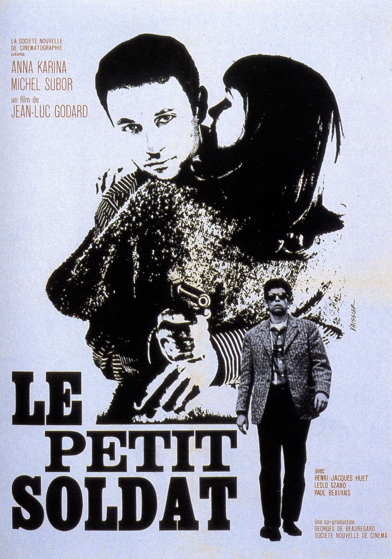 CINEMA JEAN-LUC GODARD / Le petit soldat (1963)