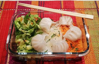 Salade asiatique facile