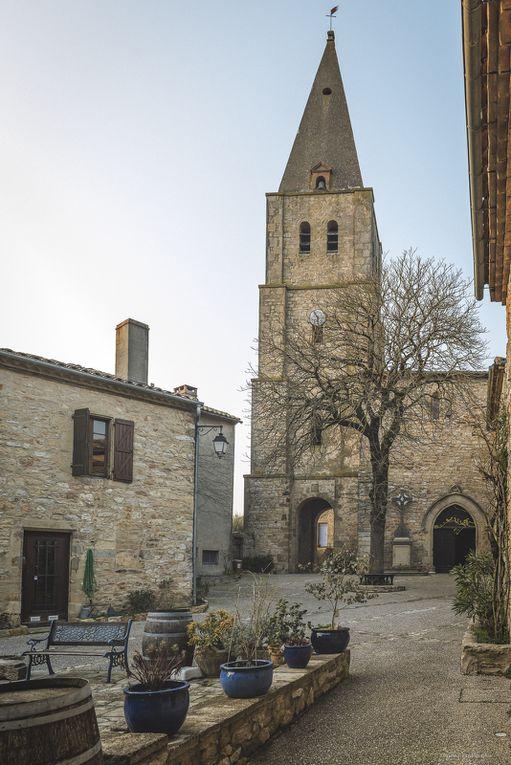 Balade à St Antonin de Noble Val, Penne, Bruniquel, Puycelsi