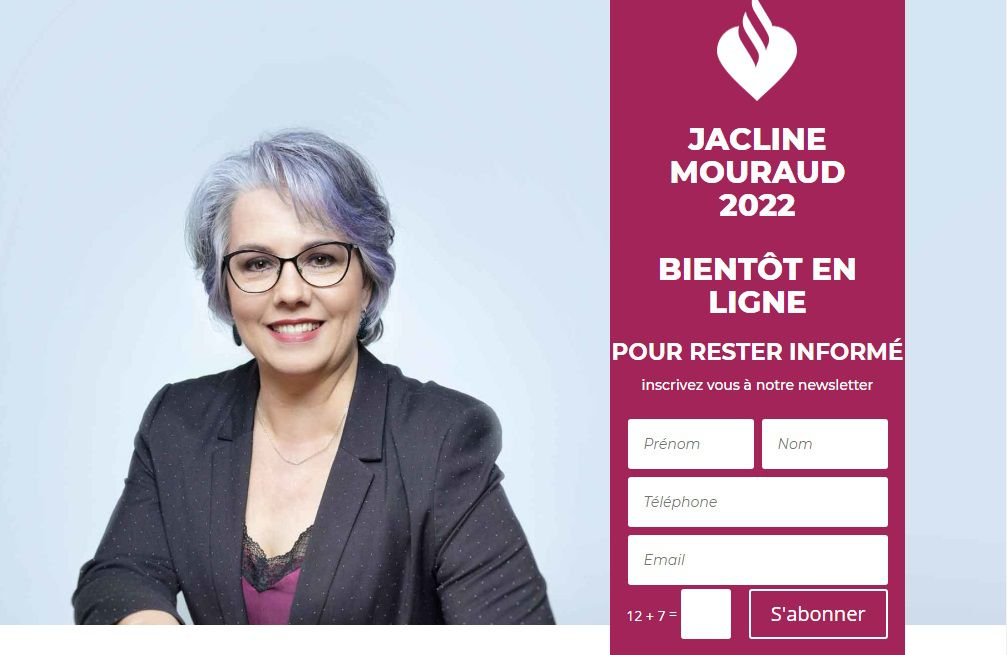 Newsletter: https://jaclinemouraud2022.fr/