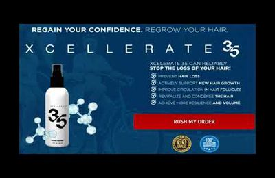 Xcellerate 35 Reviews : Get 100% Best Result With This Hair Product!