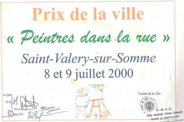 Prix de la ville Saint-Valery-syr-Somme en 2000