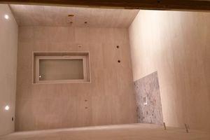 Flash salle de bain : carrelage terminé, réalisé par le Mozart de la discipline