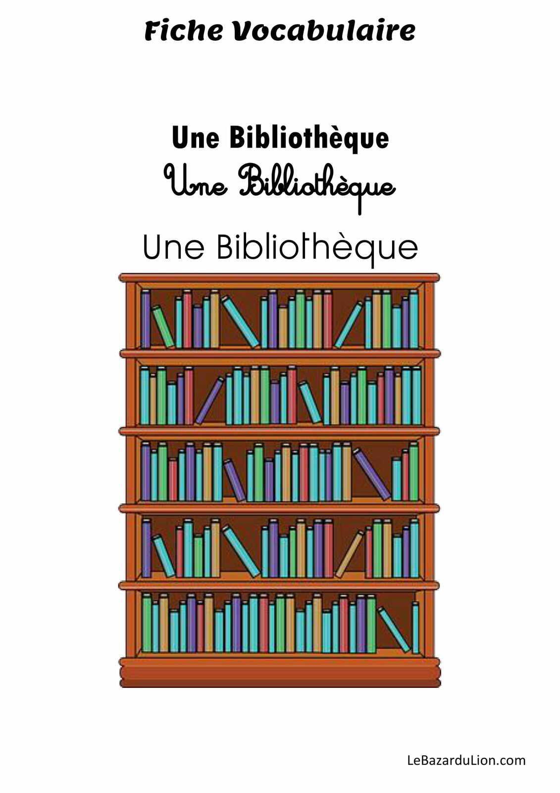 Lettre B - Lexique des dossiers lectures [Vocabulaire]