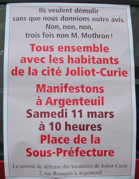 Joliot Curie Argenteuil