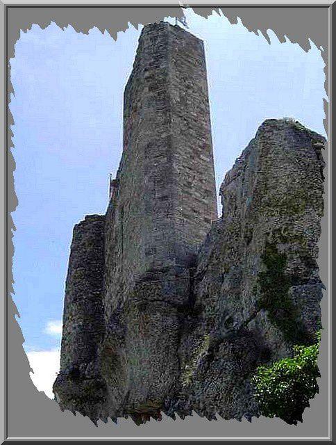 Diaporama château d'Aigueze