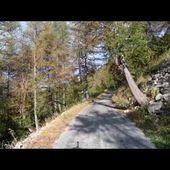 Goldwing Unsersbande - Montée du col des champs et descente vers St Martin d'Entraumes