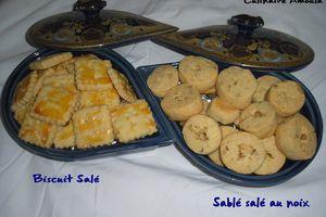 Biscuit Salé