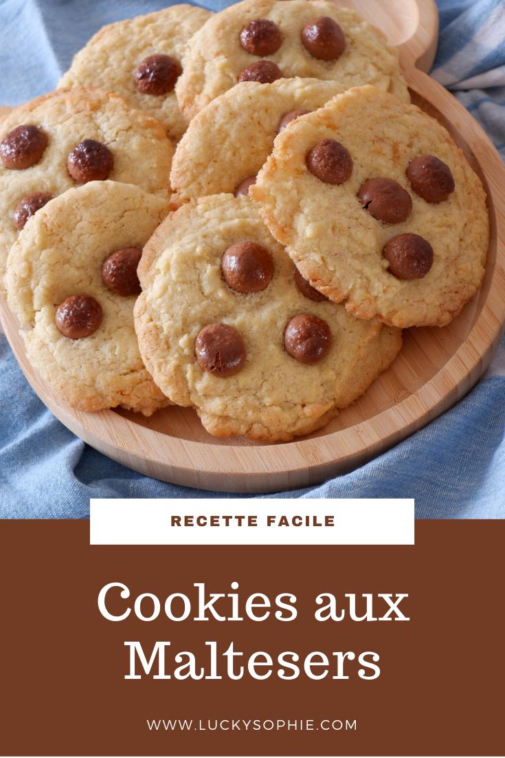 Cookies aux Maltesers