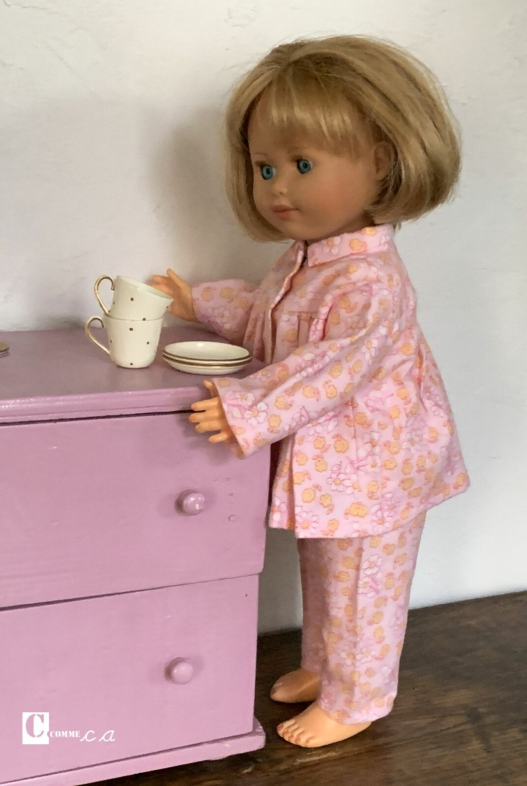 Pyjama tout doux • Mars 1953