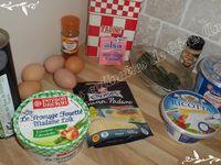 Roulé coloré au fromage frais