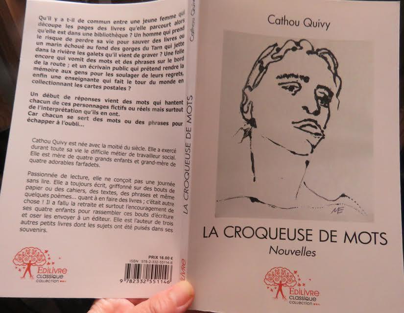 Extrait «La croqueuse de mots» un recueil de nouvelles Cathou Quivy