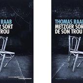 Thomas Raab : Metzger sort de son trou (Carnets Nord, 2013) - Le blog de Claude LE NOCHER