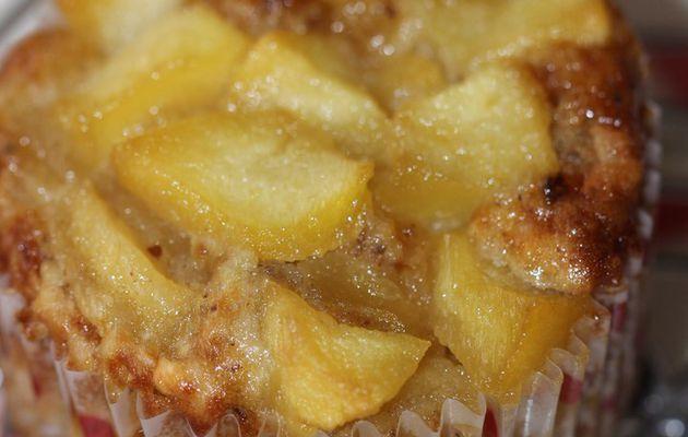 Muffins pommes/pralin