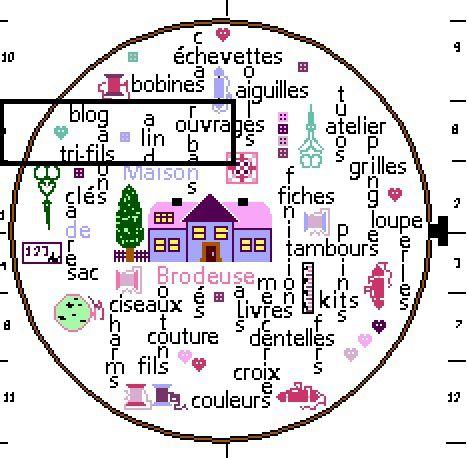 "SAL ""TAMBOUR DE BRODEUSE"" - Objectif 5 (du 1er au 15 mars)"
