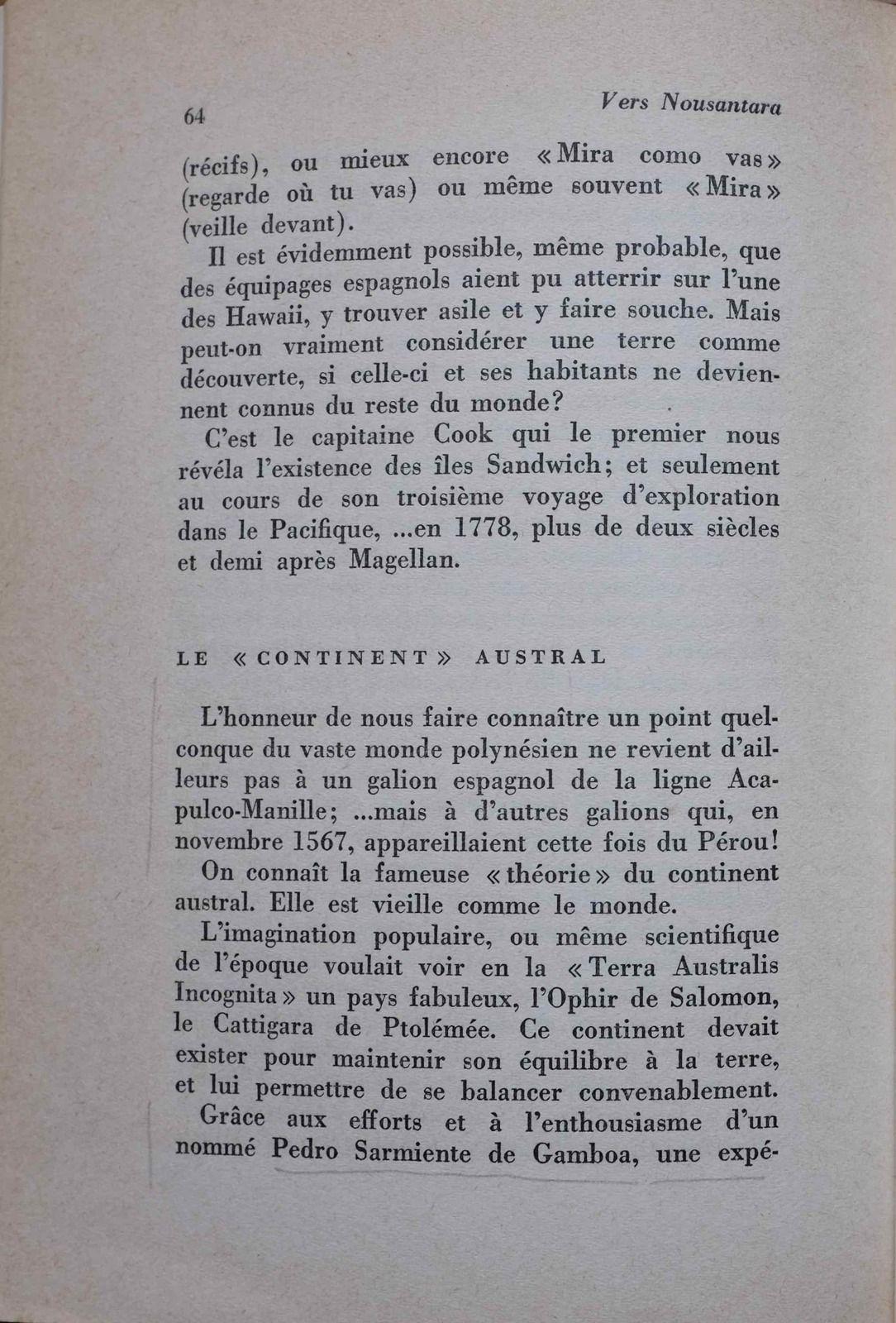 """A propos de l'annexion peu glorieuse de l'archipel des Marquises en 1842 par la France (Herman Melville, """"Taïpi"""")."""