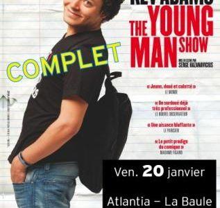 """La Baule-Escoublac - Humour à Atlantia : Kev Adams """"The young man show"""", vendredi 20 janvier 2012"""