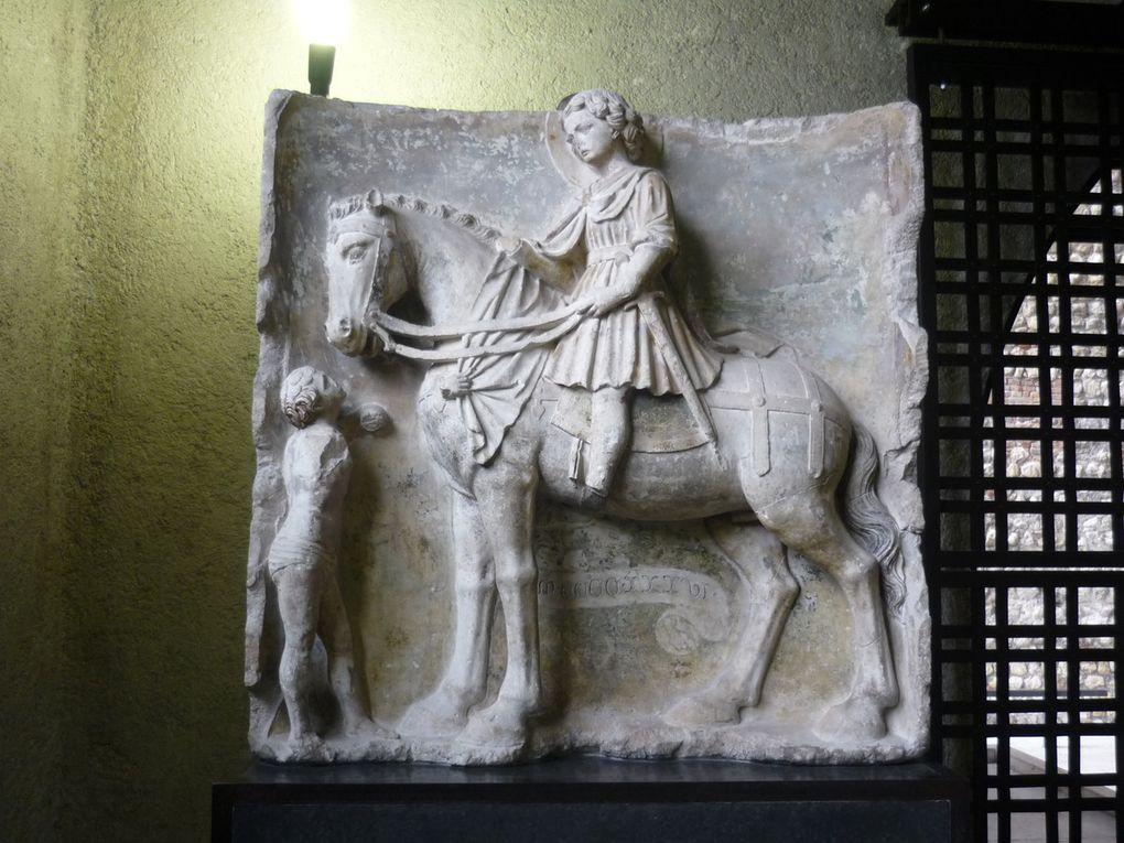 Maestro del 1436, San Martino e il povero, dalla chiesa di San Martino di Avesa, Verona