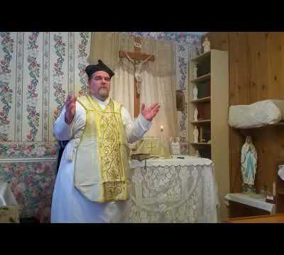 Sermon Father Pfeffer : 25th of February 2018