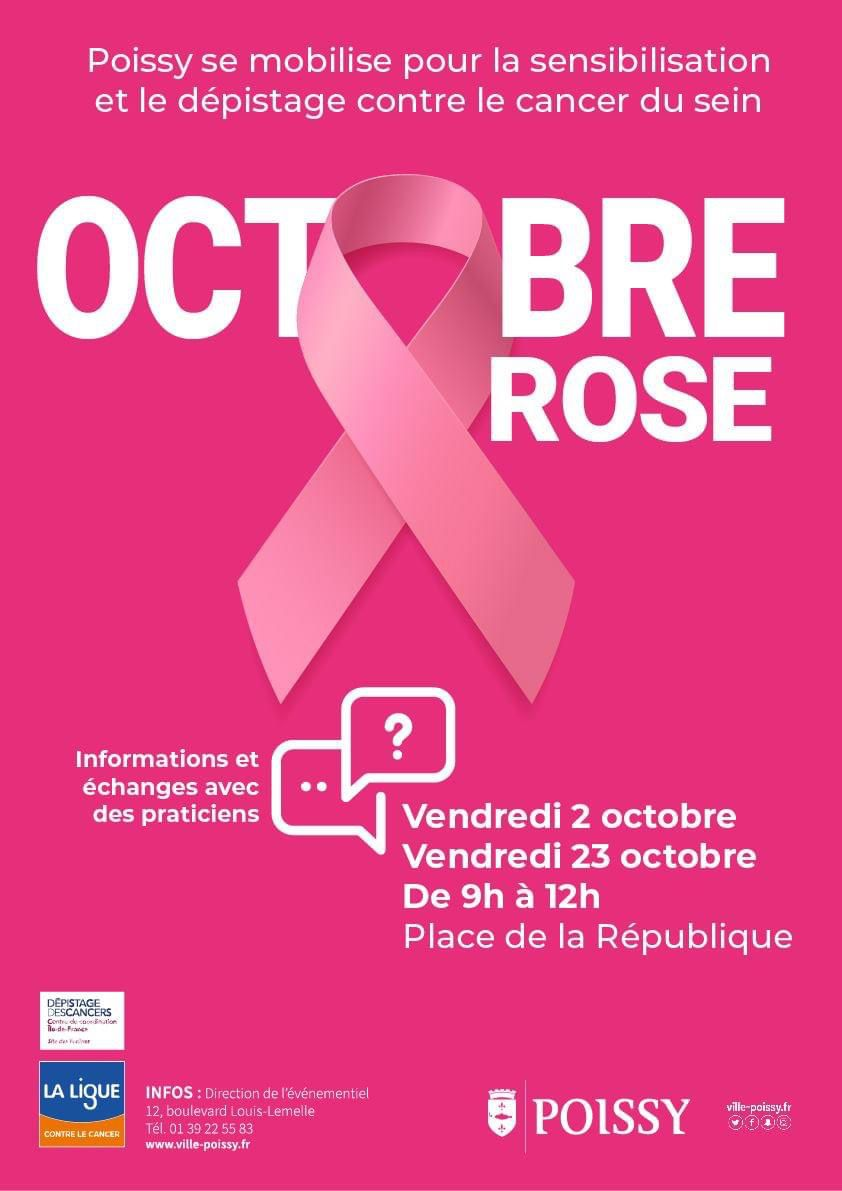 Octobre rose : service (très) minimum à Poissy