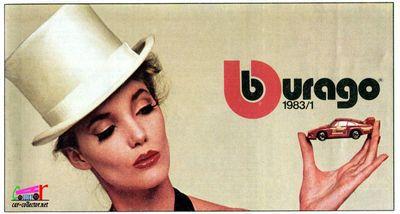 CATALOGUE BURAGO 1983.