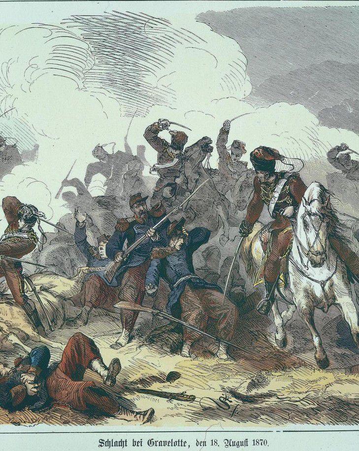 Bataille de Gravelotte (site La Croix).