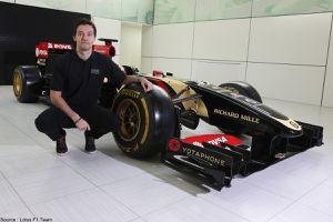 Jolyon Palmer devient troisième pilote chez Lotus
