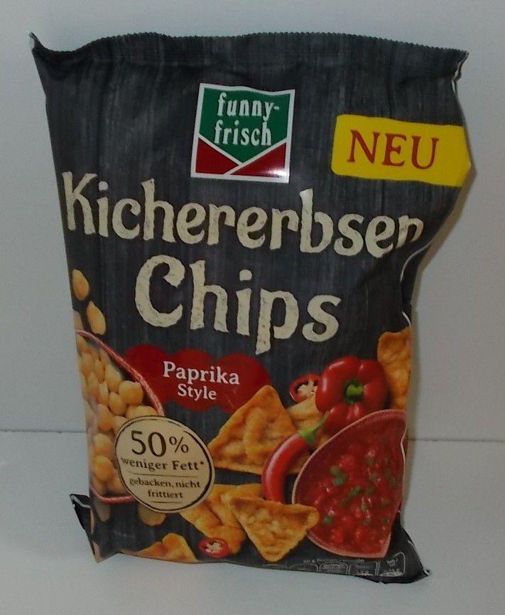 funny-frisch Kichererbsen Chips Paprika Style