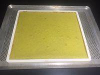Gâteau de voyage pistache / Nutella®, ganache chocolat lait et fève tonka