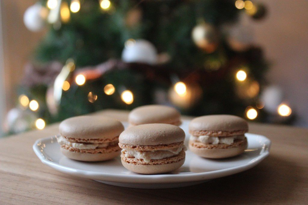 macarons chantilly foie gras