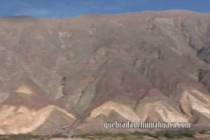 Google Earth : Canyon de Quebrada Humahuaca (Argentine)