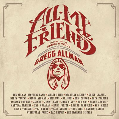 GREGG ALLMAN / ALL MY FRIENDS – Celebrating the songs & voice