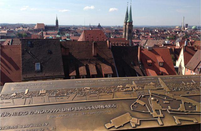 Nuremberg, une ville d'une beauté insoupçonnée...