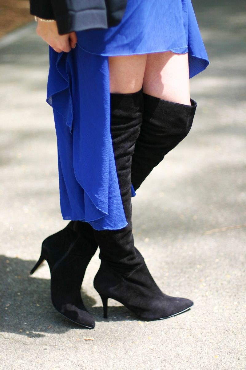 Revisiting a Trend: Over The Knee Boots