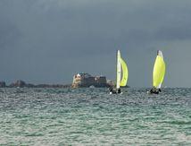 Raid des Corsaires en baie de Saint-Malo