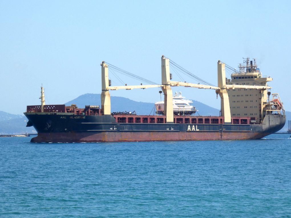 AAL GLANDSTONE , arrivant au port de Toulon / Brégaillon le 18 aout 2019
