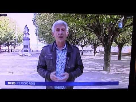 Reportage de France 3 Périgords sur la Journée des Harkis 25 09 2014 à Périgueux